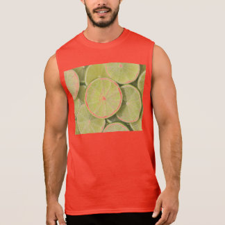 lime fruit green juicy juice thanks party fun sleeveless shirt