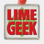 Lime Geek v2 Ornament