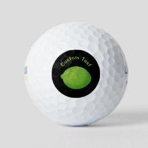 Lime Golf Balls