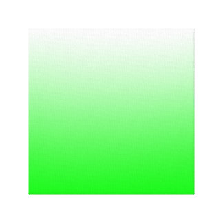 Lime Gradient Gallery Wrap Canvas