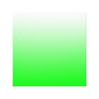 Lime Gradient Canvas Print