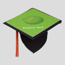 Lime Graduation Cap Topper