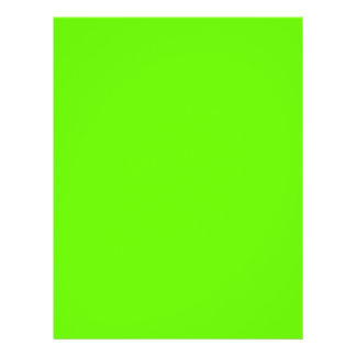"""Lime Green 8.5"""" X 11"""" Flyer"""