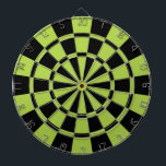 "Lime Green And Black Dartboard<br><div class=""desc"">Lime Green And Black Dart Board</div>"