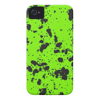 Lime Green and Black iPhone 4 Case