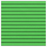 [ Thumbnail: Lime Green and Dark Green Lines/Stripes Pattern Fabric ]