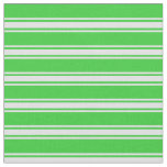 [ Thumbnail: Lime Green and Lavender Colored Stripes Fabric ]