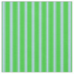 [ Thumbnail: Lime Green and Light Blue Colored Pattern Fabric ]