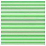 [ Thumbnail: Lime Green and Light Cyan Colored Stripes Fabric ]