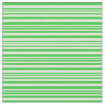 [ Thumbnail: Lime Green and Light Cyan Lines Pattern Fabric ]