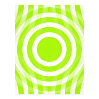 lime_green_and_white_interlocking_concentric_circl flyer