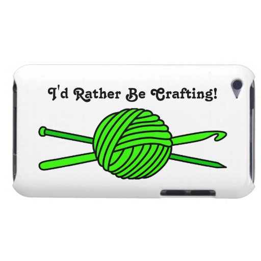 Lime Green Ball of Yarn (Knit & Crochet) Barely There iPod Covers