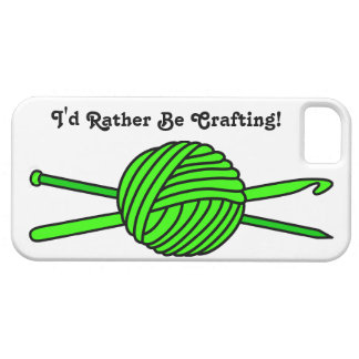 Lime Green Ball of Yarn (Knit & Crochet) iPhone 5 Covers
