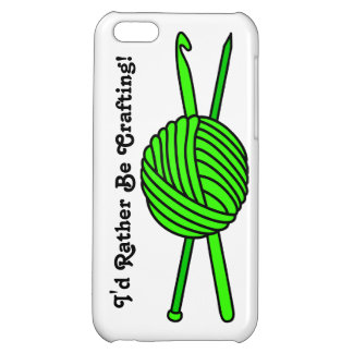 Lime Green Ball of Yarn (Knit & Crochet) iPhone 5C Cover