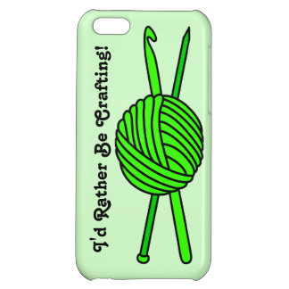 Lime Green Ball of Yarn (Knit & Crochet) Case For iPhone 5C