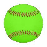 Lime Green Baseball