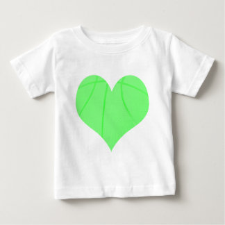 Lime Green Basketball Baby T-Shirt
