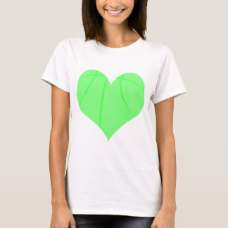 Lime Green Basketball T-Shirt