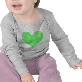 Lime Green Basketball Tee Shirt