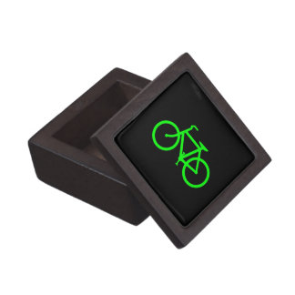 Lime Green Bike Gift Box