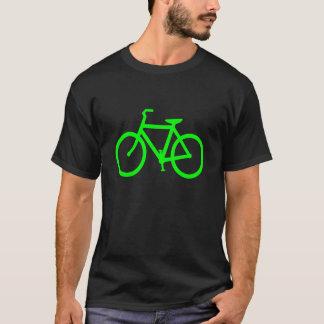 Lime Green Bike T-Shirt