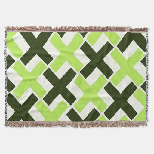 lime green black and white xs throw blanket zazzle. Black Bedroom Furniture Sets. Home Design Ideas