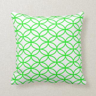 Lime Green Bracelet Design Pillow