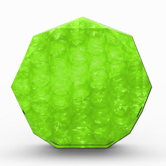 Lime Green Bubble Wrap Effect Awards