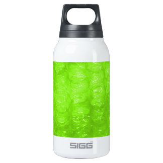 Lime Green Bubble Wrap Effect 10 Oz Insulated SIGG Thermos Water Bottle