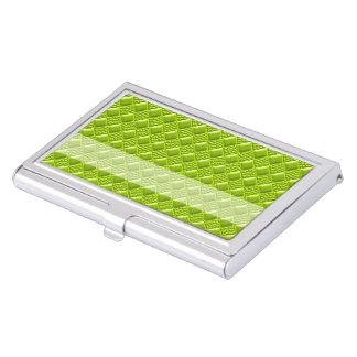 Lime Green Business Card Holder