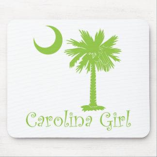 Lime Green Carolina Girl Mouse Pad