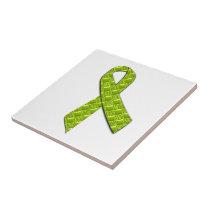 Lime Green Ceramic Tile
