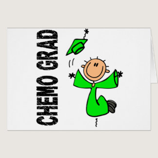 Lime Green CHEMO GRAD 1 (Non-Hodgkins Lymphoma) Card
