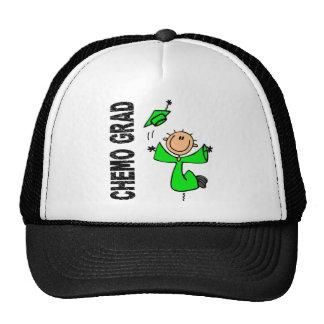 Lime Green CHEMO GRAD 1 Non-Hodgkins Lymphoma Trucker Hats
