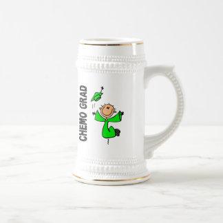 Lime Green CHEMO GRAD 1 Non-Hodgkins Lymphoma Coffee Mugs