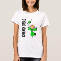 Lime Green CHEMO GRAD 1 (Non-Hodgkins Lymphoma) T-Shirt