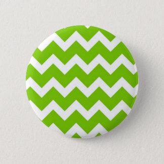 Lime Green Chevron Button