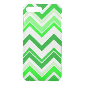 Lime green Chevron pattern iPhone 7 Plus Case
