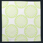 "Lime Green Circles Cloth Napkins<br><div class=""desc"">Modern,  Lime green circles graphic printed on Cloth Napkins..  See co-ordinating gifts and furnishings for the home including customisable Monogram gifts and different colour ranges.</div>"