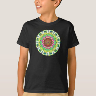Lime Green Citrus Abstract T-Shirt