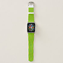 Lime Green Clover Ribbon by Kenneth Yoncich Apple Watch Band