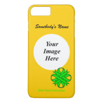 Lime Green Clover Ribbon Tmpl by Kenneth Yoncich iPhone 8 Plus/7 Plus Case