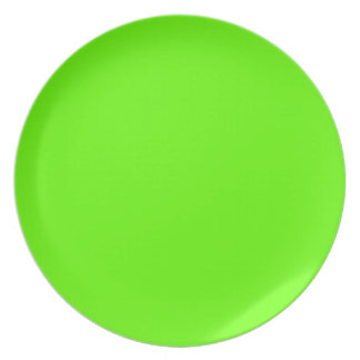 Lime Green Color Plate