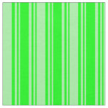 [ Thumbnail: Lime & Green Colored Lines Pattern Fabric ]