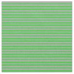 [ Thumbnail: Lime Green & Dark Gray Lines/Stripes Pattern Fabric ]