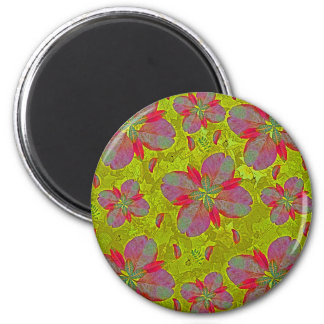 Lime Green Deco Magnet