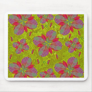 Lime Green Deco Mouse Pad