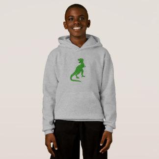 Lime Green Dinosaur Hoodie