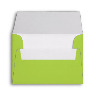 Lime Green Envelope