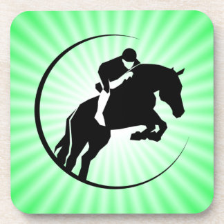 Lime Green Equestrian Coaster